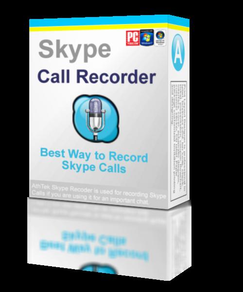 AthTek Skype Recorder v5.5 2012برنامج العملاق لتسجيل مكالمات