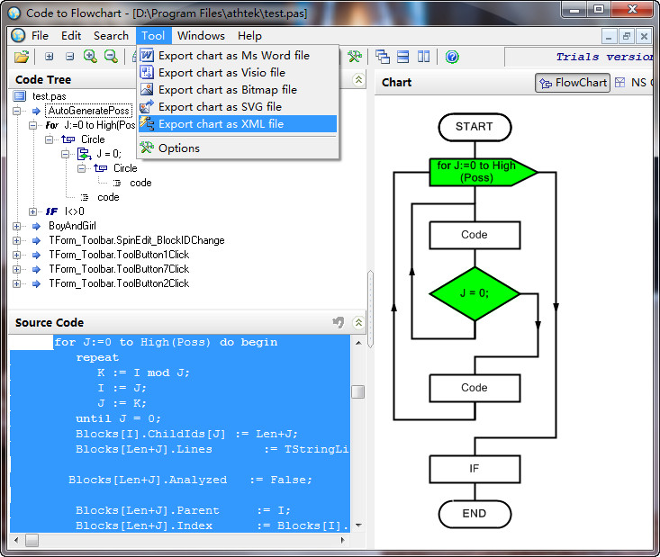 Code To Flowchart Converter V16 Has Been Released Athtek Blog
