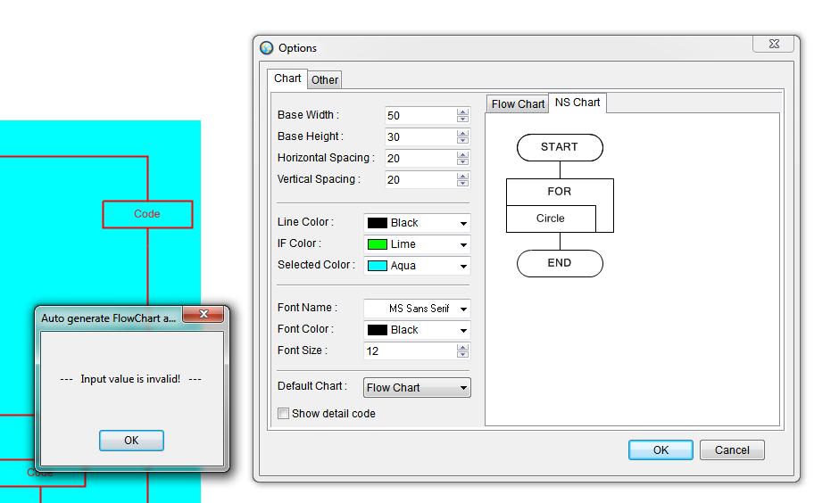 Export Flowchart to SVG