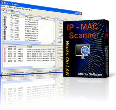 IP Scanner and MAC Scanner