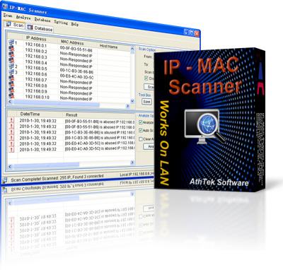 IP Scanner and MAC Scanner