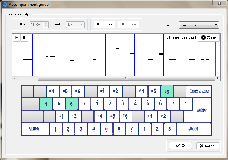 virtual keyboard piano for Windows