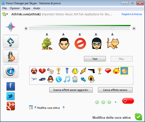 italian-skype voice changer