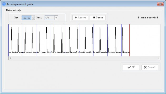 humming in DigiBand