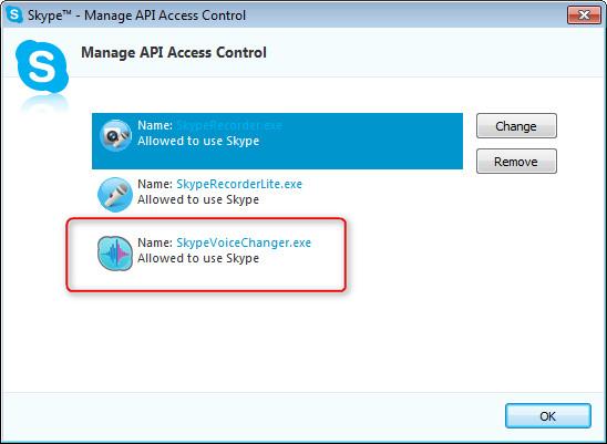 Skype API