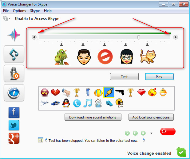 Voice Changer for Skype