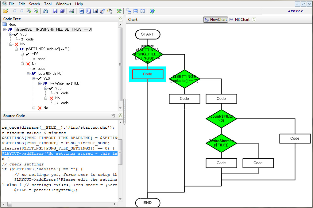 Flowchart Code Generator download | SourceForge.net