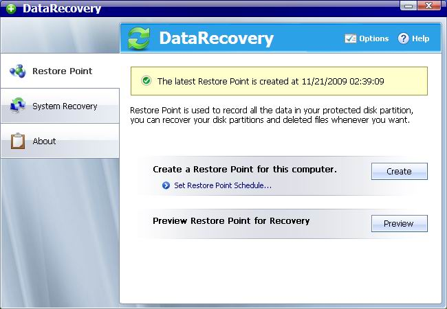 AthTek Data Recovery Screen shot