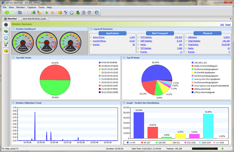 Click to view AthTek NetWalk Enterprise Edition 2.1.32 screenshot