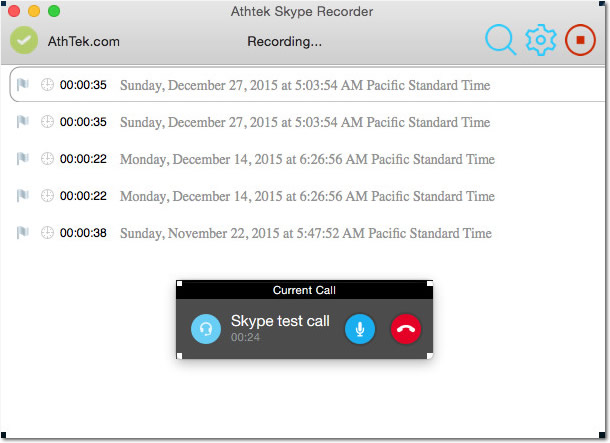 Skype Recorder for Mac