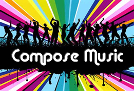 Compose music for a party